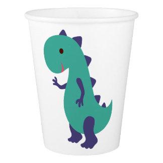 Cute Dino Paper Cup