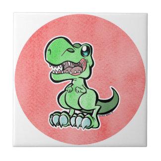 Cute Dino Ceramic Tiles