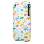 Cute Dinos Pattern iPhone 3/ 3GS Case