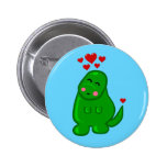 Cute Dinosaur 6 Cm Round Badge