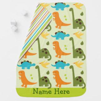 Cute Dinosaur Baby Blanket