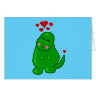 Cute Dinosaur Card