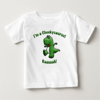 Cute Dinosaur is a Cheekysaurus Baby T-Shirt