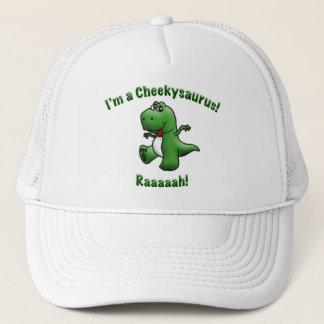 Cute Dinosaur is a Cheekysaurus Trucker Hat