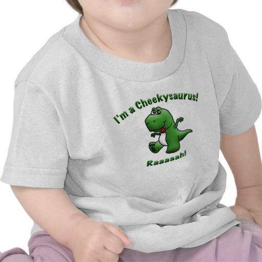 Cute Dinosaur is a Cheekysaurus Shirt