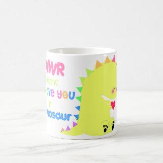 Cute Dinosaur MUG CUP RAWR