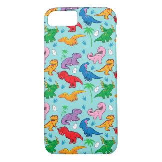 Cute Dinosaur Pattern iPhone 7 Case