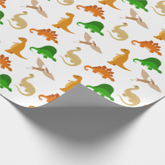 Cute Dinosaur Pattern Wrapping Paper