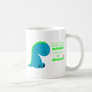 Cute Dinosaur RAWR Coffee Mug