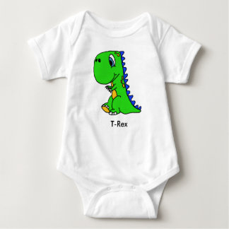 Cute Dinosaur T-Rex Kids Shirt