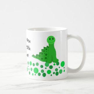 Cute Dinosaur Teacher Design Basic White Mug