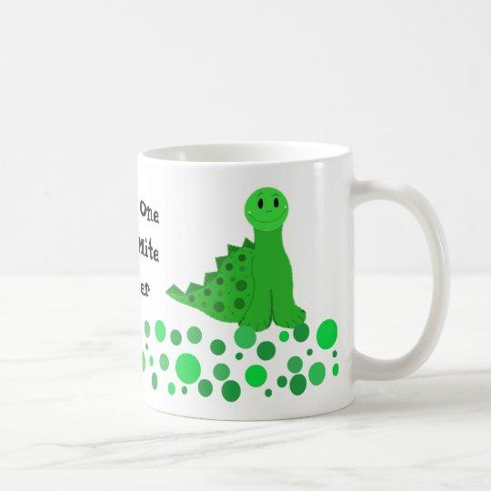 Cute Dinosaur Teacher Design Coffee Mug