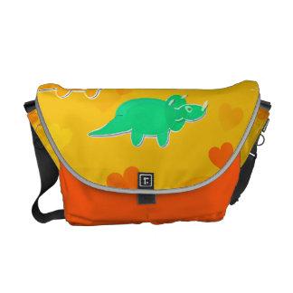 Cute Dinosaurs Pattern Messenger Bag