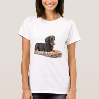cute doberman pinscher puppy T-Shirt