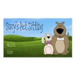 Cute Dog and Cat Business Cards
