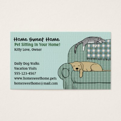 pet sitting business cards - Kubre.euforic.co