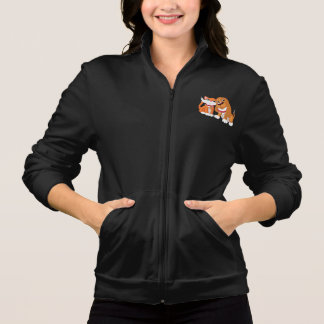 Cute Dog And Cat Womens Jacket