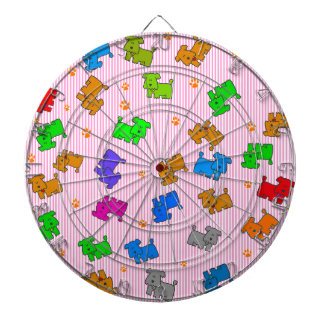 Cute Dog Dartboard