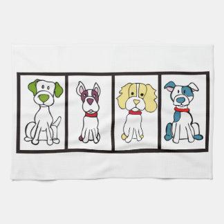 Cute Dog Dishtowel Tea Towel