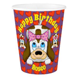 Cute Dog Paper Cups