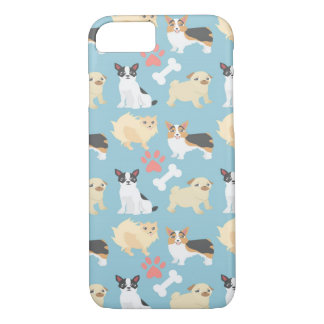 Cute Dog Pattern iPhone 7 Case