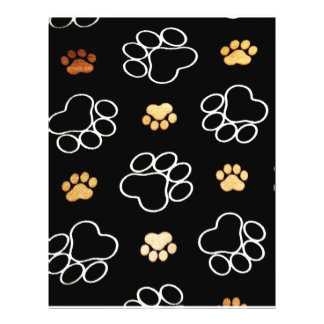 Cute Dog Paws 21.5 Cm X 28 Cm Flyer