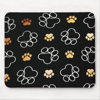 Cute Dog Paws Mouse Pad