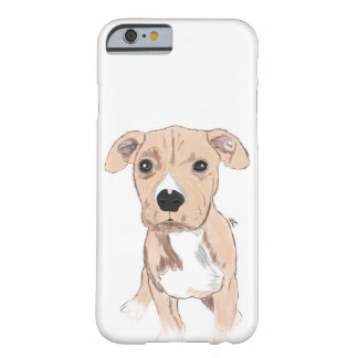 Cute Dog Phone Case, Dog Illustration Barely There iPhone 6 Case
