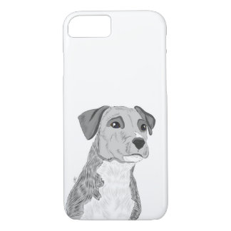 Cute Dog Phone Case, Dog Illustration iPhone 8/7 Case