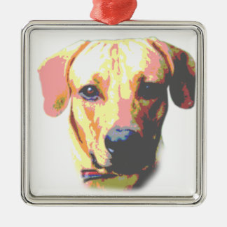 Cute Dog Picture Christmas Ornament