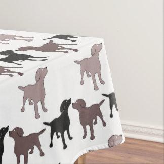 Cute Dog Print Design Tablecloth