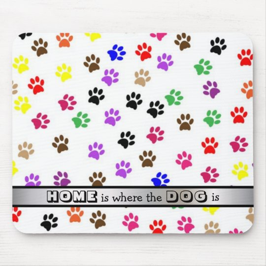 Cute Dog Quote Paw Prints Gift for Dog