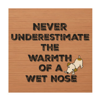 Cute Dog Quote Wood Wall Decor