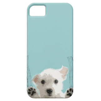 Cute dog scratch iPhone 5 case
