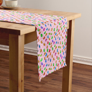 Cute Dog Short Table Runner