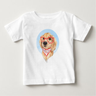 Cute dog sketch baby T-Shirt