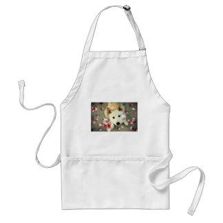 Cute dog standard apron