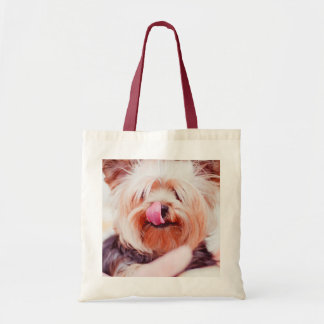 Cute Dog tote bags