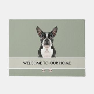 Cute Dog Welcome Mat