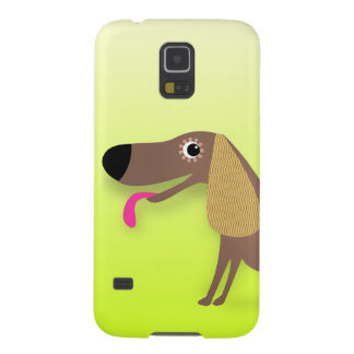 Cute dog with floppy ears galaxy s5 cover