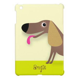 Cute dog with floppy ears case for the iPad mini
