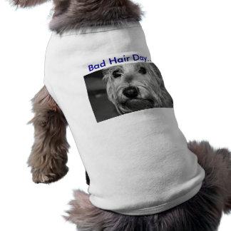 Cute Doggie Clothing Sleeveless Dog Shirt