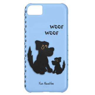 Cute Doggie Family Personal iPhone 5 Case