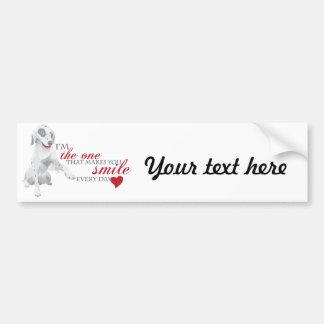 Cute Doggy Bumper Sticker