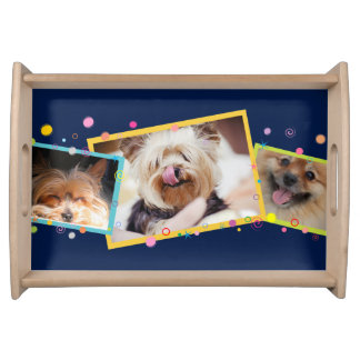 Cute Dogs A3a Serving Tray