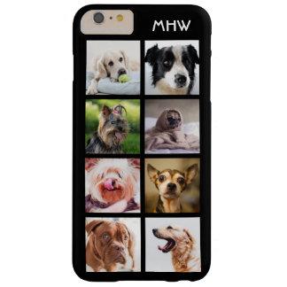 Cute Dogs Photo Collage custom monogram cases