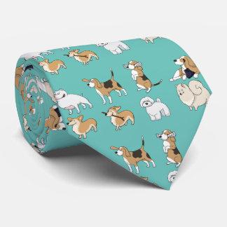 Cute Dogs Tie
