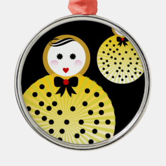 Cute doll design Beebushka Christmas Ornament