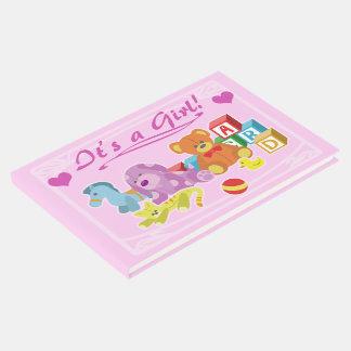 Cute Dolls (Pink) Guest Book