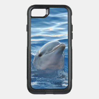 Cute Dolphin OtterBox Commuter iPhone 8/7 Case